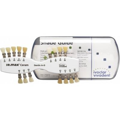 IPS e.max Ceram Shade Guide Dentin A-D